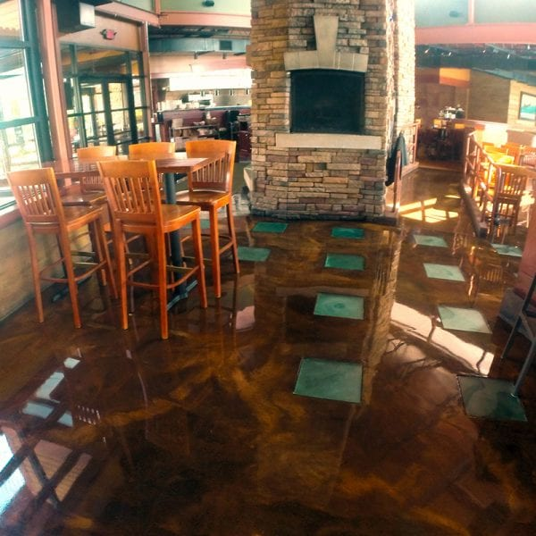 Restaurant Decorative Floor Coating
