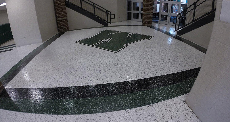Westlake Logo Floor Coating