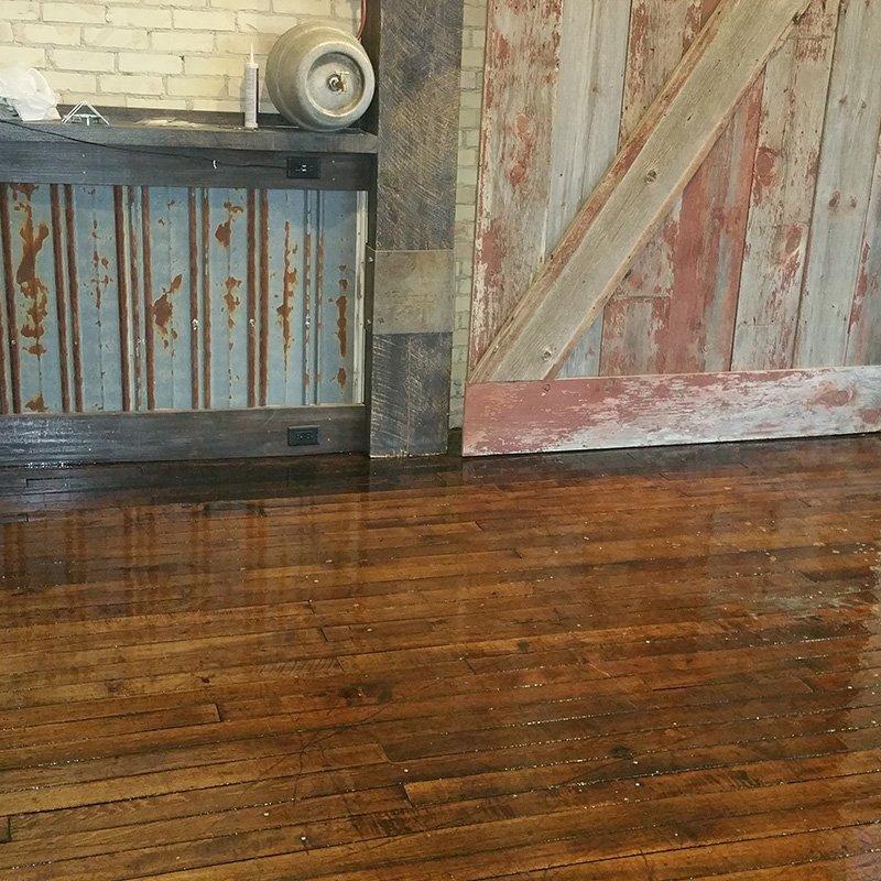 Resinous Floor Coating