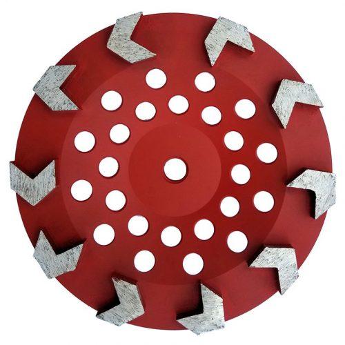 & Inch Arrow Concrete Prep Tooling