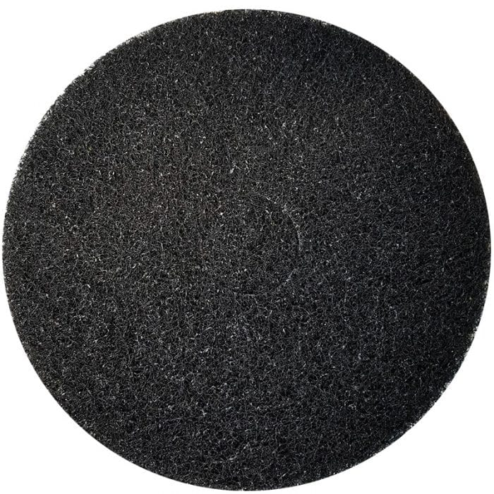 Black scrubber pads for autoscrubbers