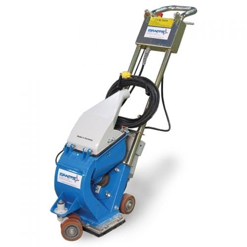 110v 8 inch shotblaster concrete prep machine