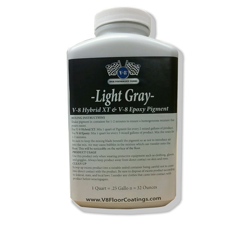 Light Gray Quart V-8 Resin Pigment
