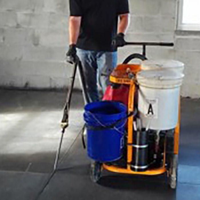One Man Dual Component Polyurea Joint Filling Pump
