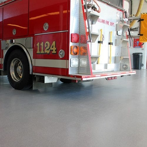 Fire Station Non-Slip Quartz Floor Coating