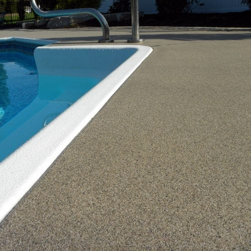 Quartz Non-Slip Pool Deck Coating