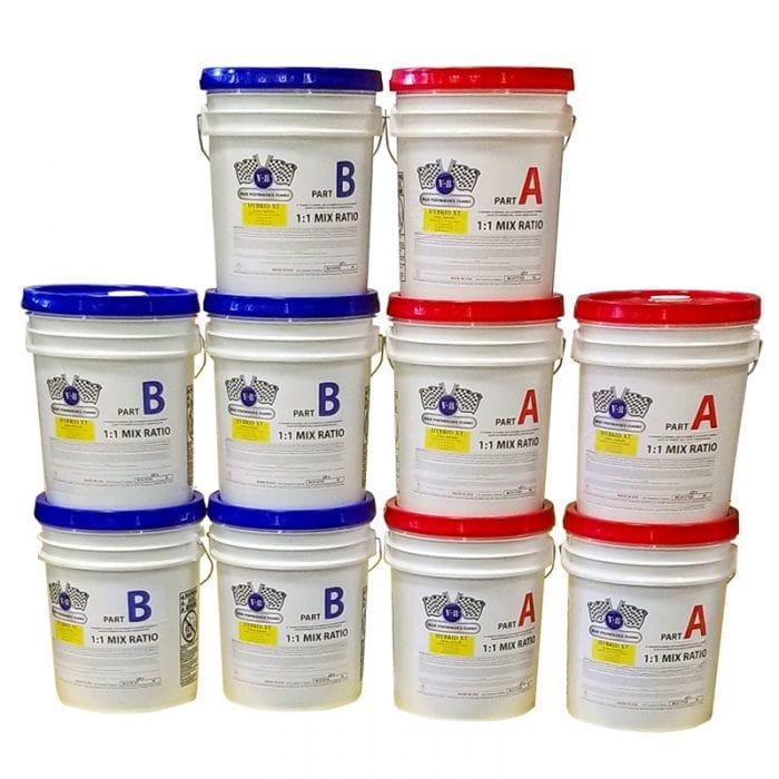 V-8 Hybrid XT Bulk Floor Coating