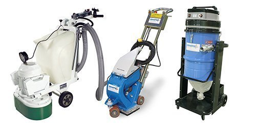 Concrete Preparation and Polishing Equipment