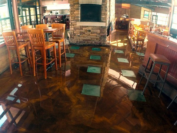 Restaurant / Bar Platinum Floor Coating
