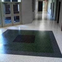 School Entryway Floor Coating