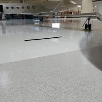 Durable Airplane Hangar Floor Coating