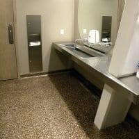 Mica Chip System Bathroom Floor Coating