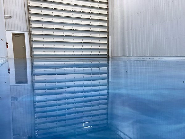 Blue Platinum Epoxy Floor Coating