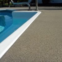 V-8 Quartz Broadcast System - Pool Deck
