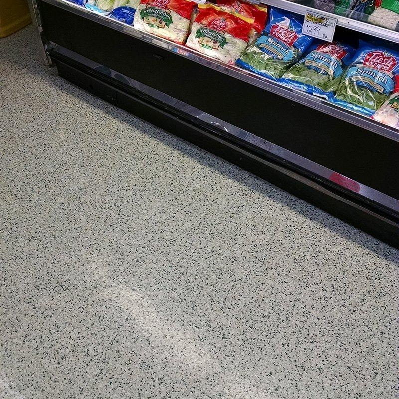 Commercial Floor Coating Installation