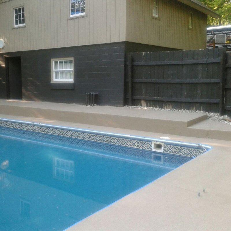 V-8 Quartz Broadcast System - Pool Deck
