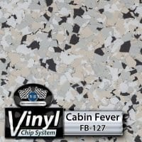 Cabin Fever FB-127 Vinyl Chip Blend