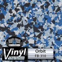 Orbit FB-310 Vinyl Chip Blend
