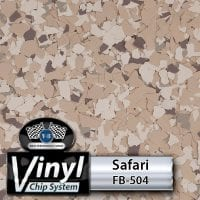 Safari FB-504 Vinyl Chip Blend