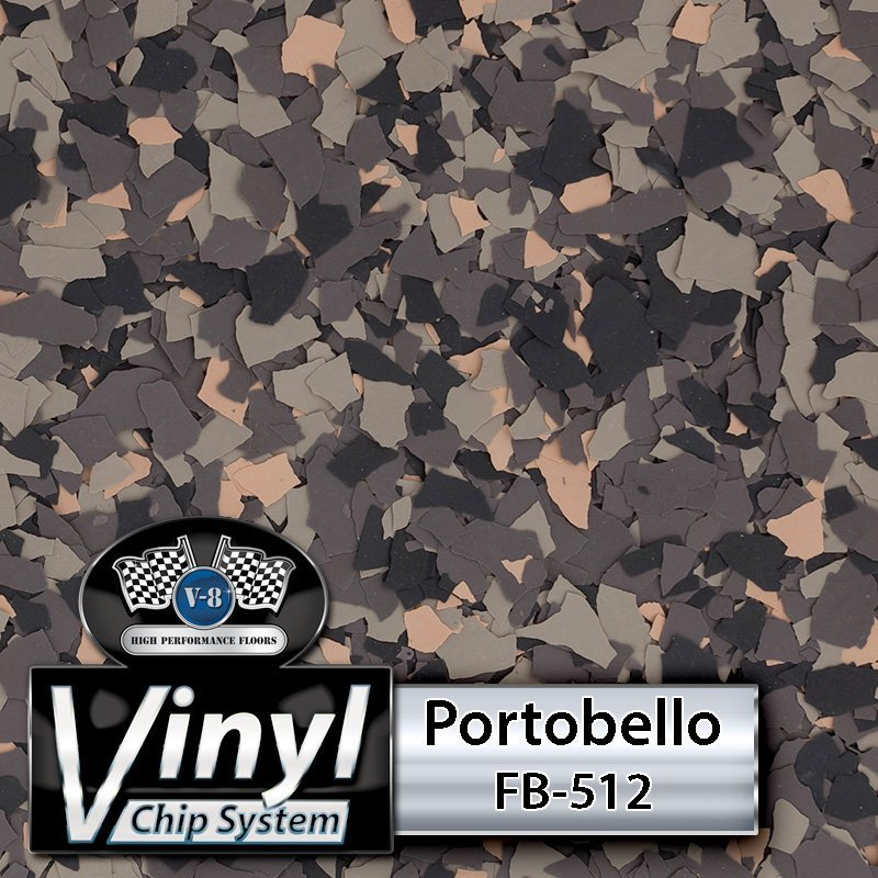 Portobello FB-512 Vinyl Chip Blend