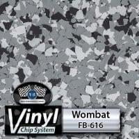 Wombat FB-616 Vinyl Chip Blend
