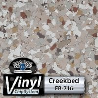 Creekbed FB-716 Vinyl Chip Blend