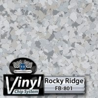 Rocky Ridge FB-801 Vinyl Chip Blend