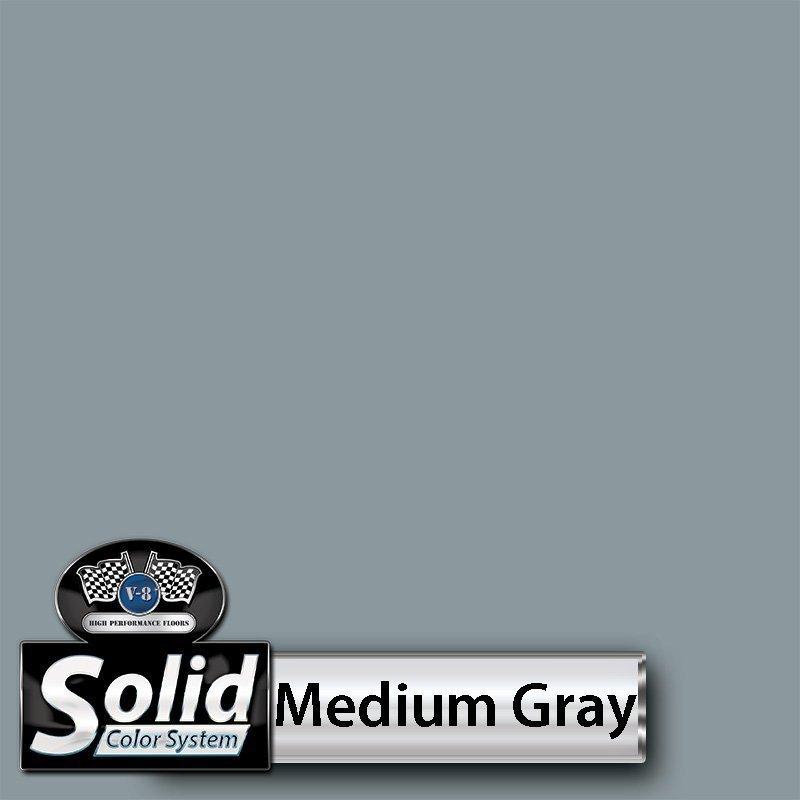 Medium Gray Solid Color Resin Pigment