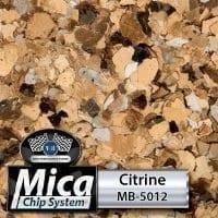 Citrine MB-5012 Mica Blend