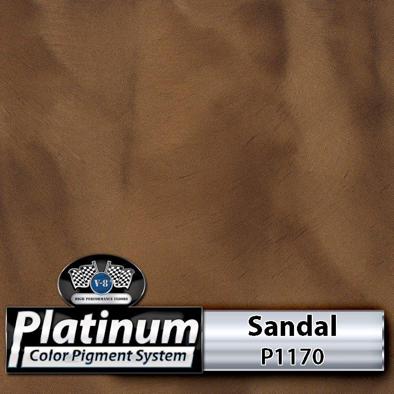 Sandal P1170 Platinum Color Pigment
