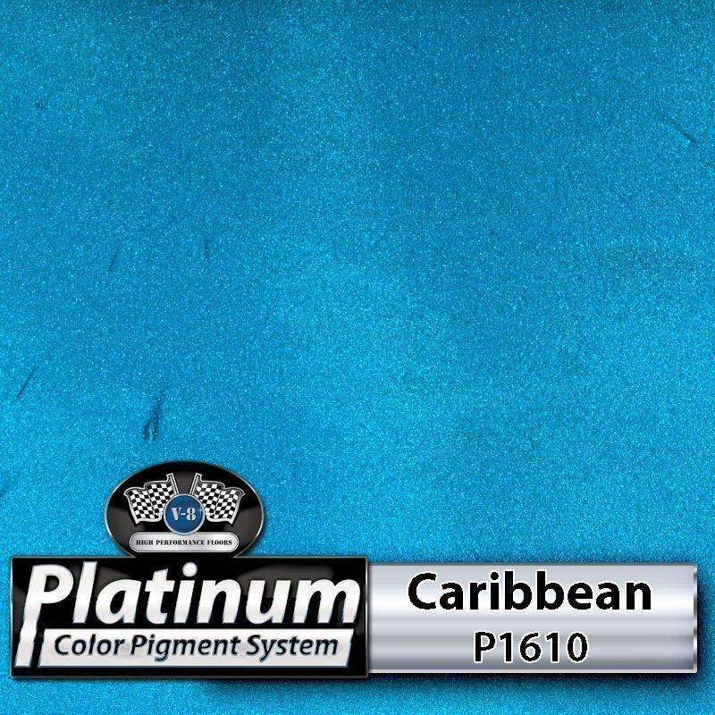 Caribbean P1610 Platinum Color Pigment