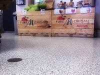 Seamless Easy-to-clean Grocery Store Floor Coating
