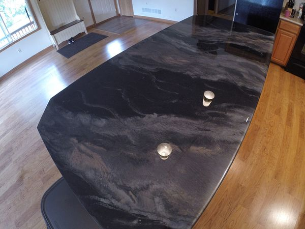 Durable One of a Kind Kitchen Counter Coating