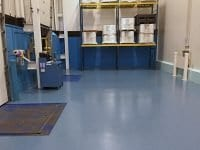 Industrial Quartz Broadcast Epoxy Floor Coating