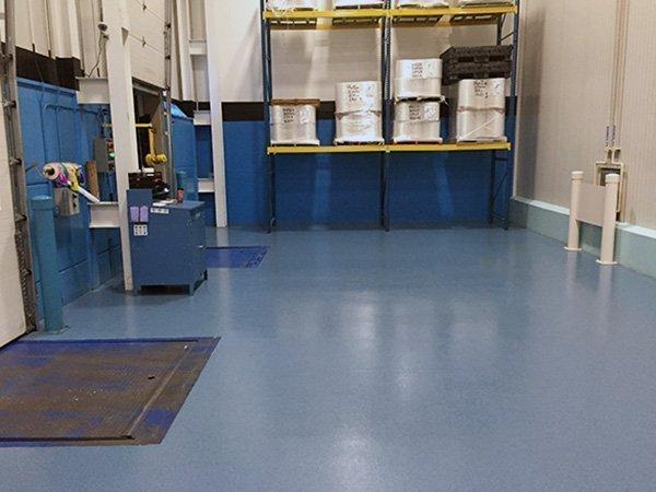 Industrial Quartz Broadcast Epoxy Floor Coating