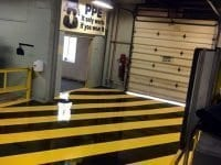 Safety Yellow Striped 6.0 Epoxy Floor Coating