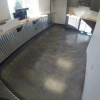 Commercial Platinum Installation With Magnum Urethane Topcoat