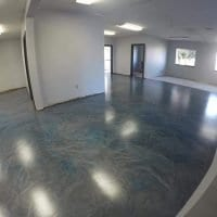 Platinum Color Pigment System with Matte Magnum Urethane Topcoat