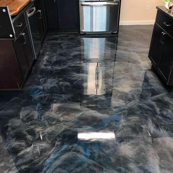 Kitchen Platinum Epoxy Installation