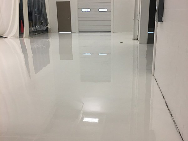 Light Gray Solid Color 100% Solids Epoxy Floor Coating