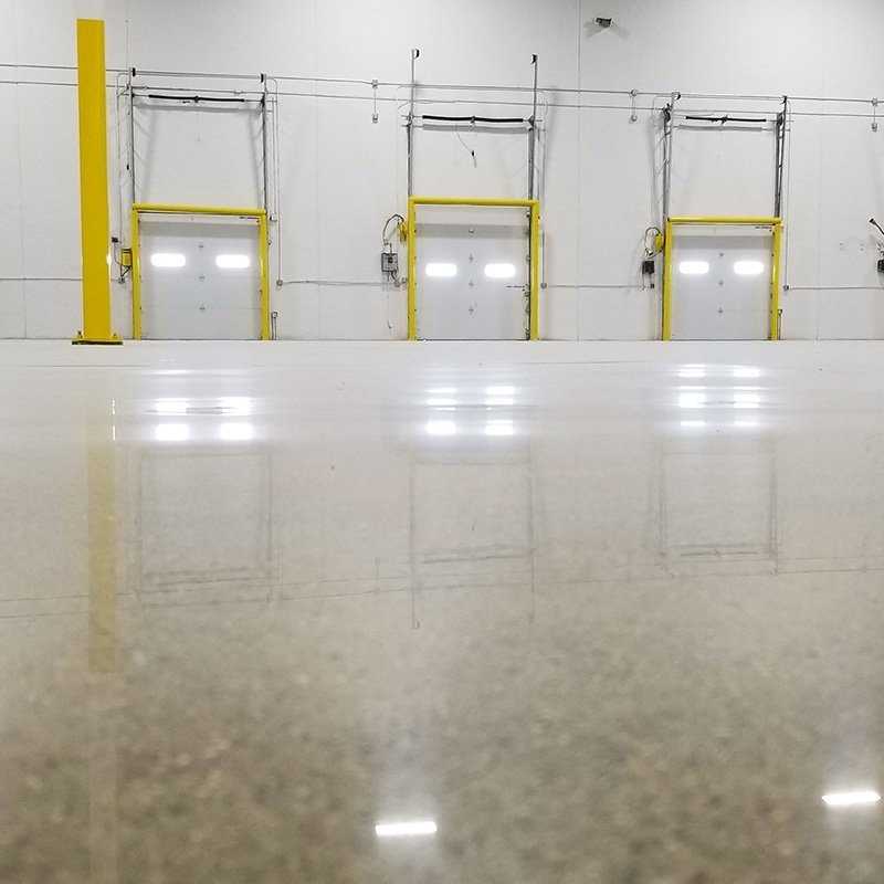 Warehouse Polished Concrete