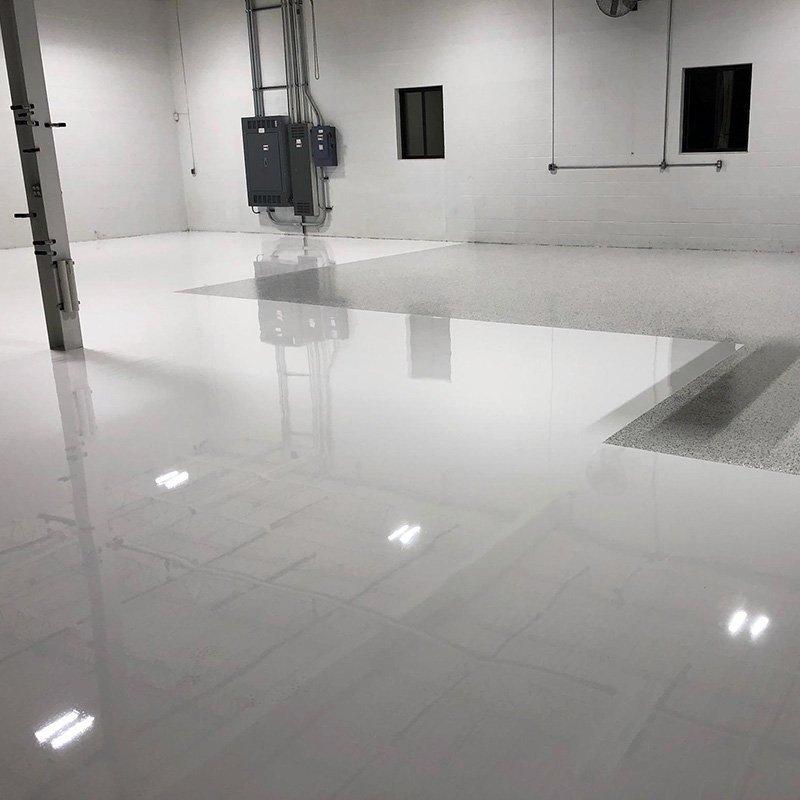 Non-Yellowing White Floor Coating
