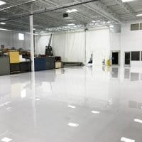 White Manufacturing Flooring