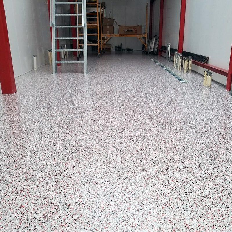 Easy to Clean floor coating