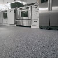 Stone series vinyl chip floor coating