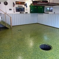 John Deere Garage Floor