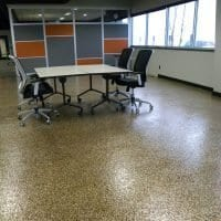 Decorative office flooring