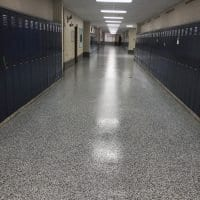 Low Maintenance School Flooring