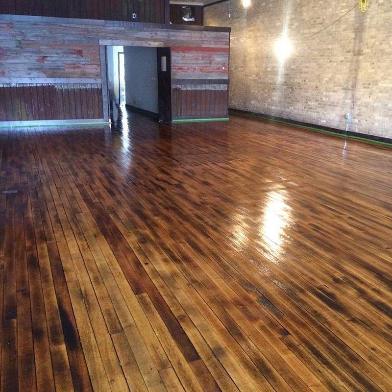 Clear Hybrid XT wood floor coating