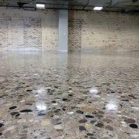 Large Aggregate Concrete Polishing